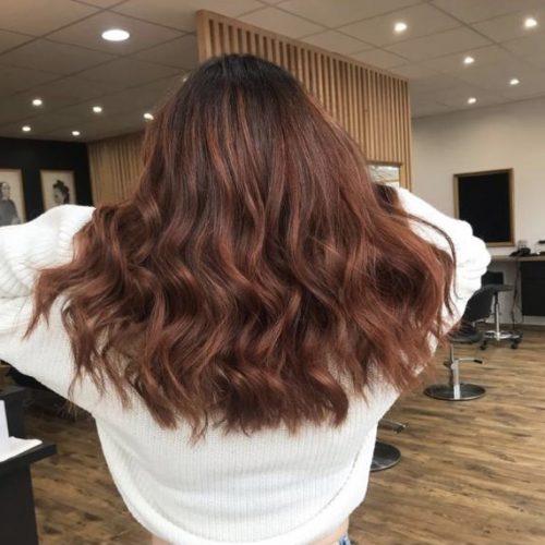 coiffure ombré hair